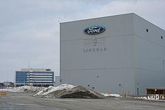 Hoofdkantoor van Ford Canada in Oakville. De fabriek is geopend in 1953, met 3.820 medewerkers in 2009 Bron: Wikipedia
