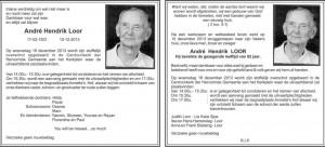 Andre Loor 1931-2013