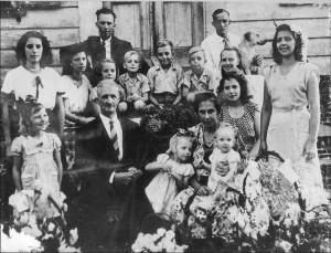 Fam Johan en Elize van Brussel-Gummels