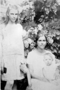 Mathilda Lang met kinderen