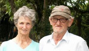 Oom Evie en tante Jo Vermeer-Rozenberg