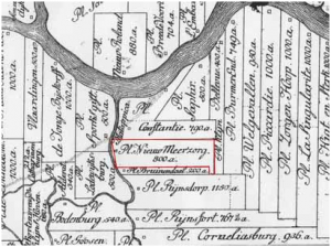 Plantage NieuwMeerzorg 1770