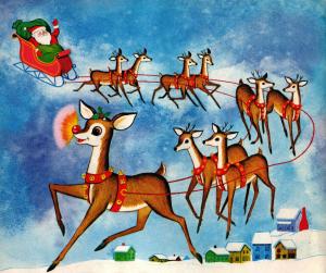 Santa & ReindeersG