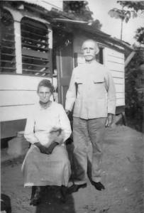 echtpaar Albert en Dieka Lammers-van Brussel - ca 1940