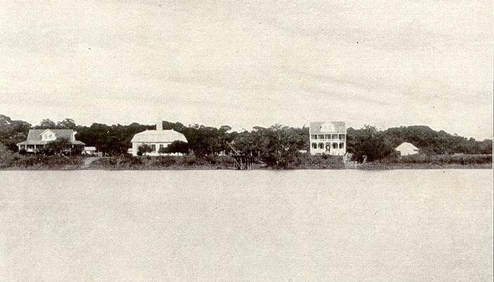 Groningen, vanaf de Saramacca rivier, 1915