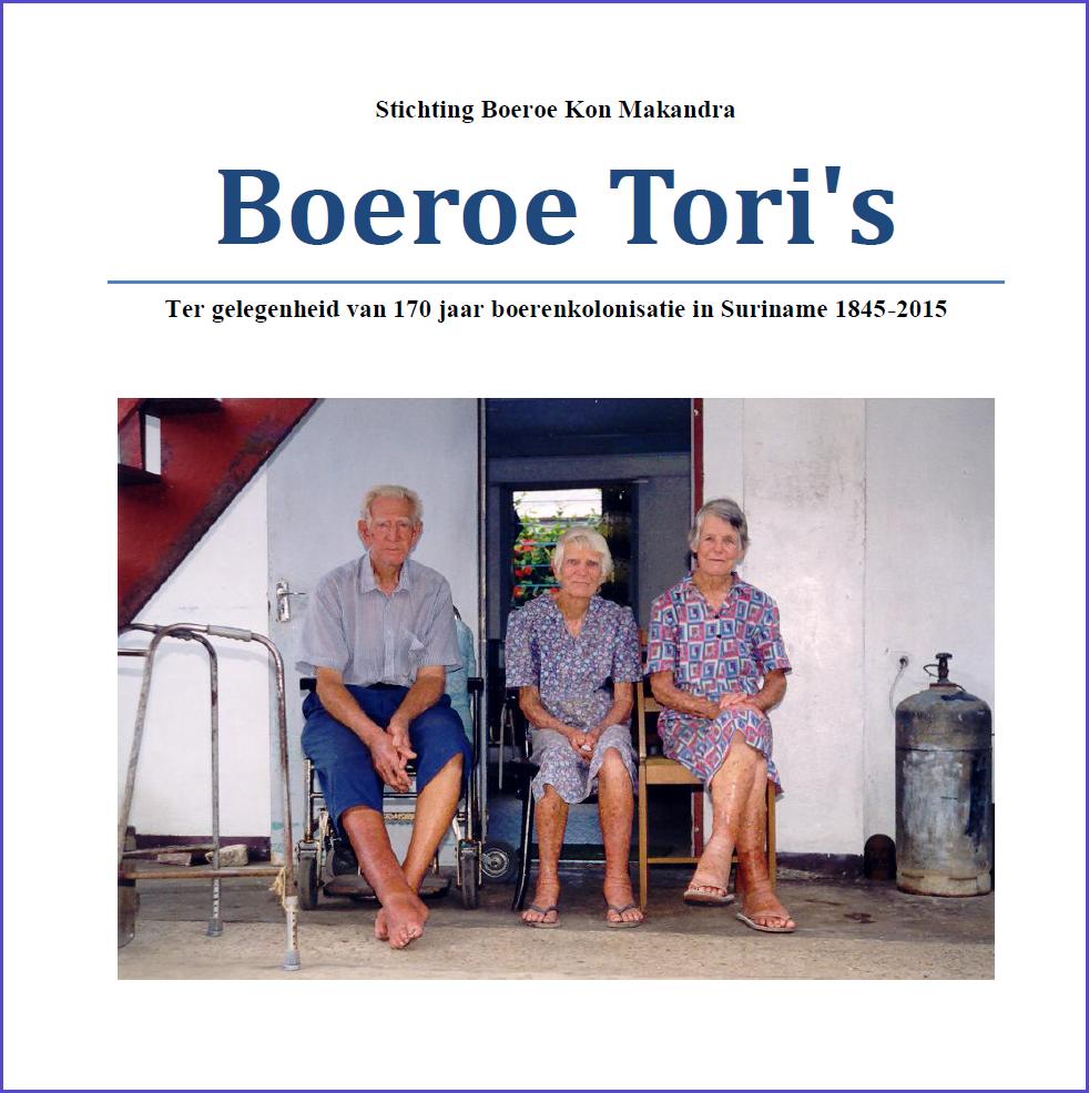 Voorkant Boeroe Tori's