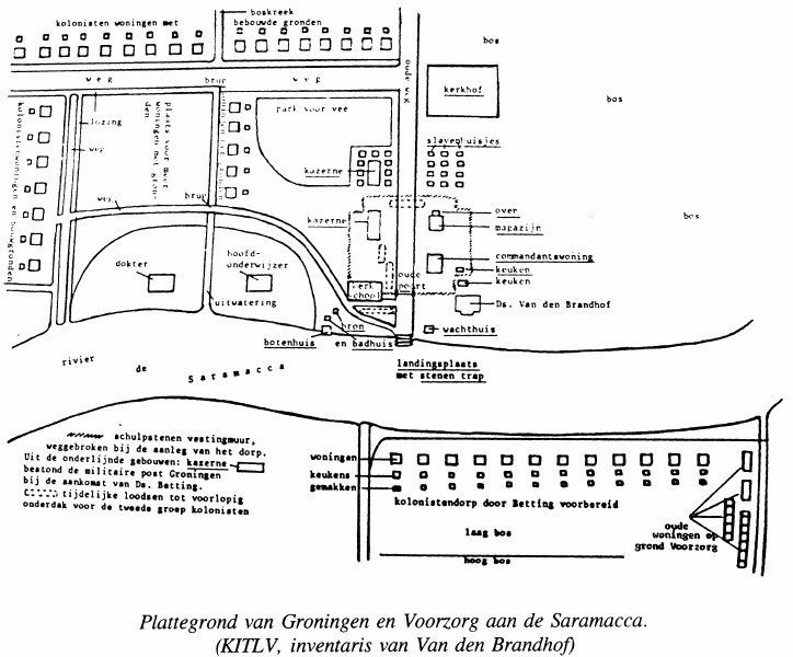 voorzorg-groningen-plattegrond 1845