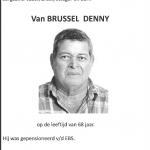 Denny Van Brussel - 1946-2015