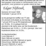 Edgar Nijbroek - 1938-2016