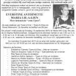 Evertsine A M Lie-A-Lien -1931-2015