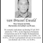 Ewald van Brussel -1930-2015
