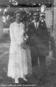 Graanoogst-vanVelthuizen-trouwfoto