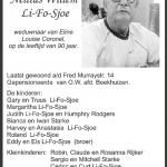 Nellius Willem Li-F-Sjoe - 1925-2015