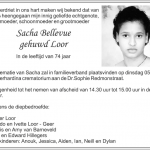 Sascha Loor-Bellevue - 1942- 2016