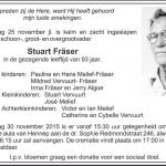 Stuart Fraser - 1922-2015-12-01