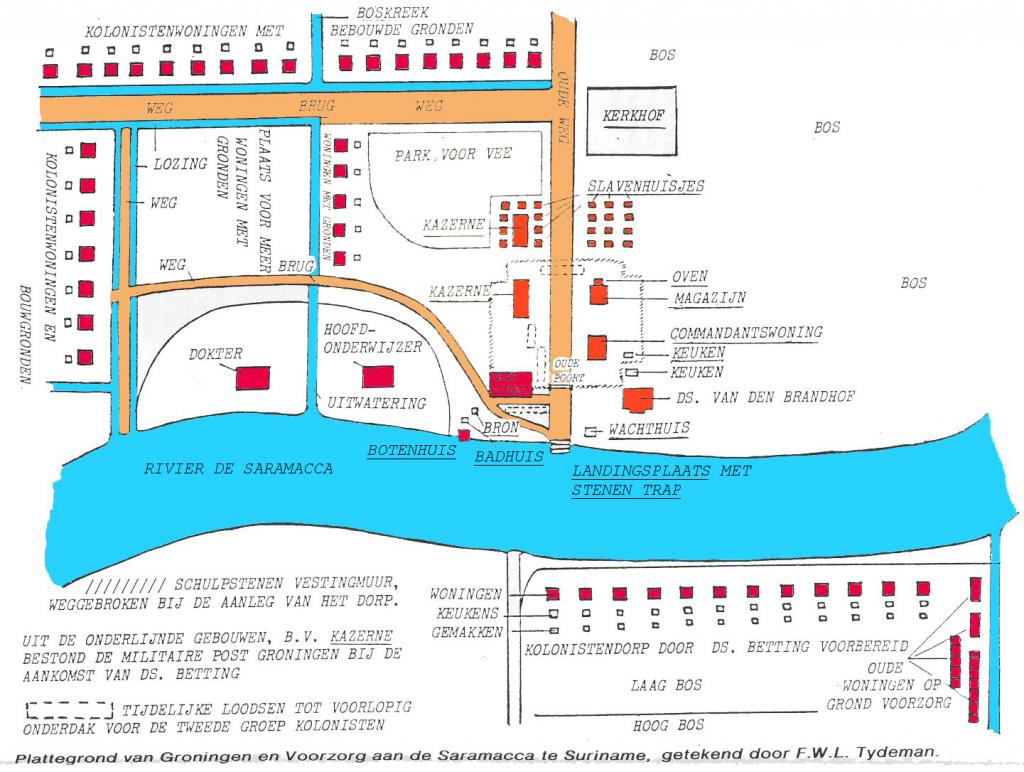 groningen-plattegrond-tydeman 1846