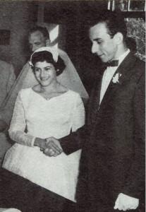 Huwelijk Rudy van Brussel en Milie Saba