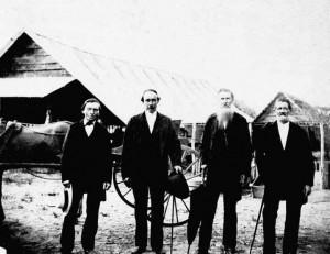 vier kolonisten